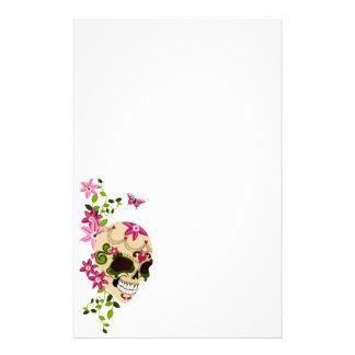 Cráneo del azúcar [Día de Muertos] Papelería