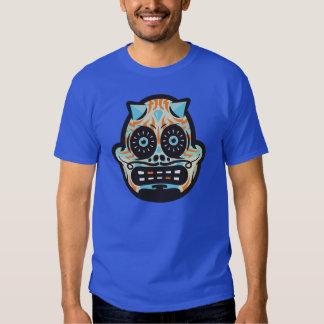 Cráneo del caramelo camisas