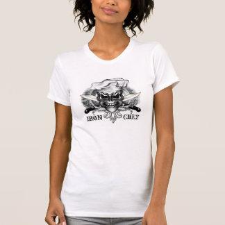 Cráneo del cocinero: Cocinero del hierro Camisetas