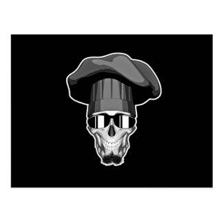 Cráneo del cocinero del inconformista postal