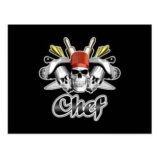 Cráneo del cocinero: Herramientas del comercio Postal