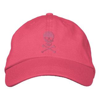 Cráneo del Grunge y casquillo bordado de la bander Gorra De Beisbol