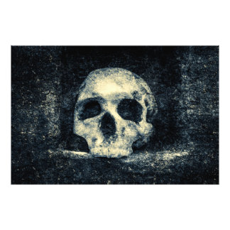 Cráneo del horror de Halloween Foto