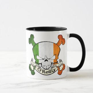 Cráneo del irlandés de O'Reilly Taza