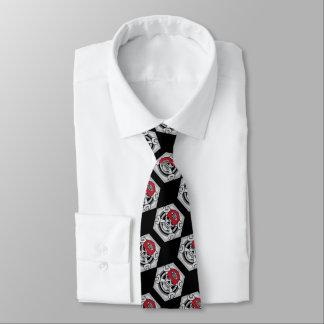 Cráneo del mecánico corbata