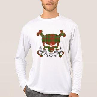 Cráneo del tartán de MacGregor Camisetas