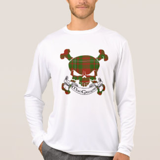 Cráneo del tartán de MacGregor Camiseta