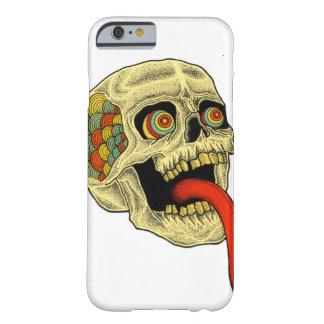 cráneo del tonue funda de iPhone 6 barely there