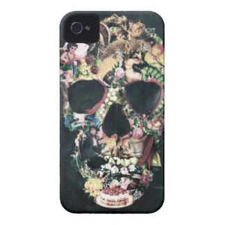 Cráneo del vintage Case-Mate iPhone 4 protectores