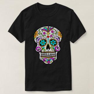 """Cráneo """"día del azúcar"""" de la camiseta muerta"""