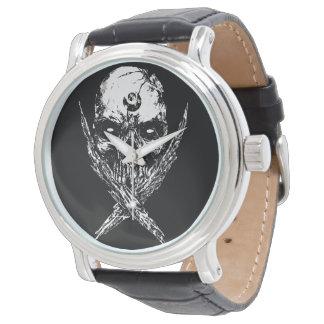 Cráneo Diabolus Reloj De Pulsera