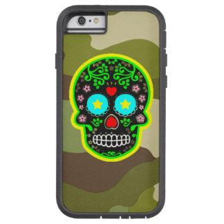 Cráneo duro del mexicano del camuflaje de la caja funda tough xtreme iPhone 6