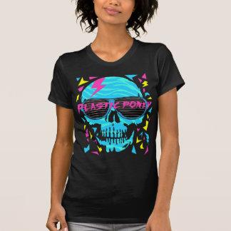cráneo electrónico 80s camiseta
