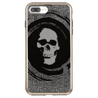 cráneo en el giro funda DualPro shine de incipio para iPhone 8 plus/