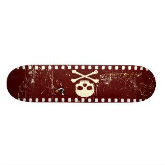 Cráneo en la película patin personalizado
