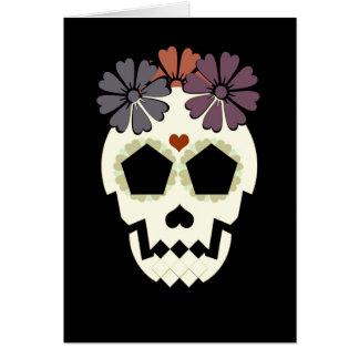 "Cráneo ""estancia fantasmagórica!"" Tarjeta de"
