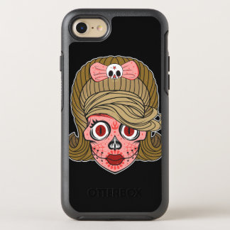 Cráneo femenino del azúcar funda OtterBox symmetry para iPhone 7
