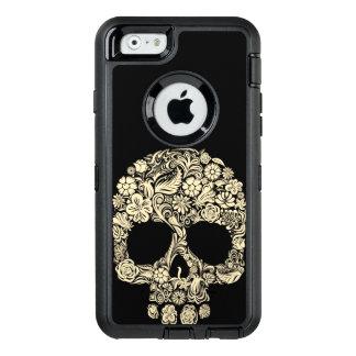 Cráneo floral del azúcar funda otterbox para iPhone 6/6s
