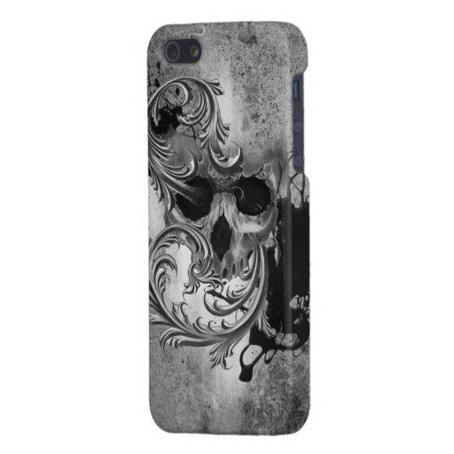 Cráneo iPhone 5 Fundas