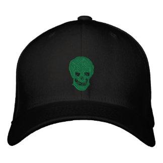Cráneo irlandés gorra bordada