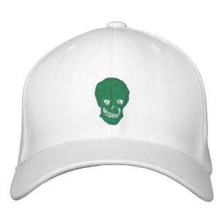 Cráneo irlandés gorras bordadas