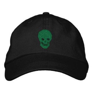 Cráneo irlandés gorros bordados