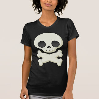 cráneo lindo camiseta
