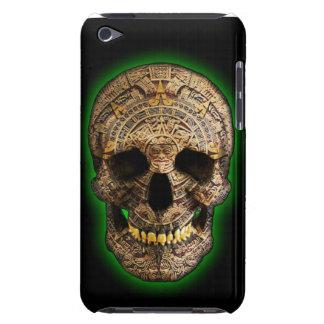 Cráneo maya por el distrito del diseño de Hellmet Barely There iPod Funda