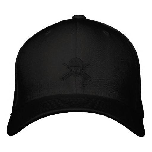 Cráneo negro - vida de la refinería gorra bordada