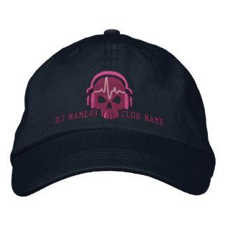 Cráneo personalizado de DJ su bordado conocido del Gorros Bordados
