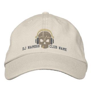Cráneo personalizado de DJ su bordado conocido del Gorra De Béisbol