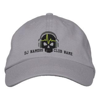 Cráneo personalizado de DJ su bordado conocido del Gorra De Beisbol Bordada