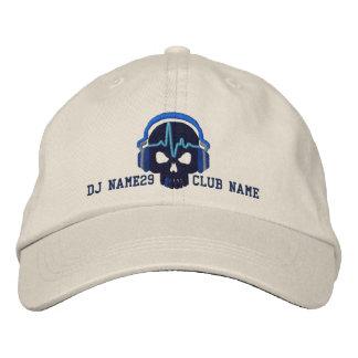 Cráneo personalizado de DJ su bordado conocido del Gorras De Beisbol Bordadas