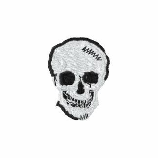 Cráneo principal del metal chaqueta bordada