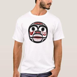 Cráneo que llora del Haida del noroeste de la Camiseta