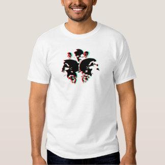 Cráneo Rorschach de S1NCENTER 3d Camisas