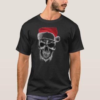 Cráneo travieso de Santa Camiseta