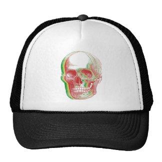 Cráneo tricolor de Rasta Gorros