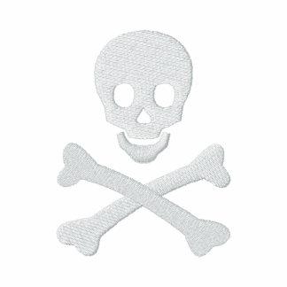 Cráneo y bandera pirata chaqueta