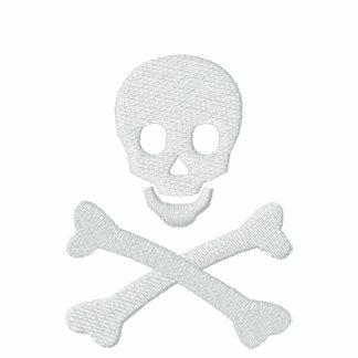 Cráneo y bandera pirata chaquetas bordadas