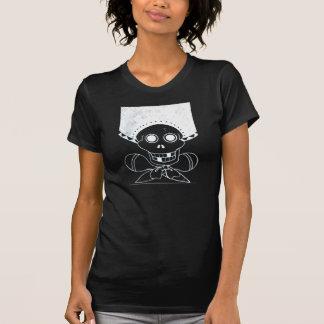 Cráneo y bandera pirata del Mariachi Camiseta