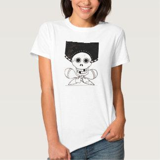 Cráneo y bandera pirata del Mariachi Camisetas
