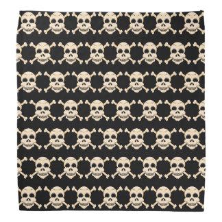 Cráneo y pañuelo de la bandera pirata bandanas