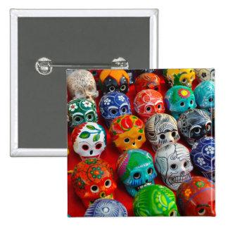 Cráneos de cerámica del azúcar en México Chapa Cuadrada