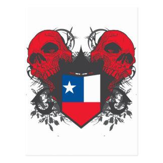 Cráneos de Chile Postales