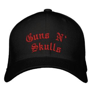 Cráneos de N de los armas Gorra De Beisbol