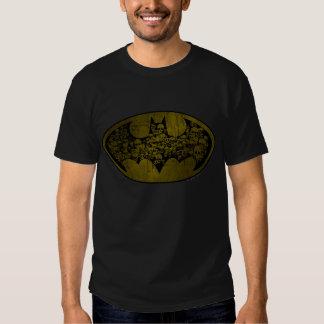 Cráneos del símbolo el | de Batman en logotipo del Camiseta