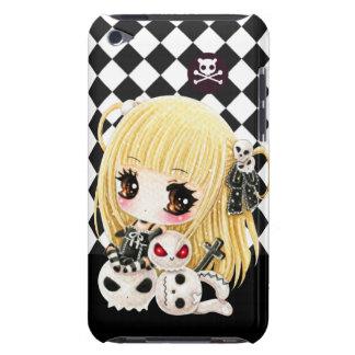 Cráneos lindos del chica y del kawaii del chibi carcasa para iPod