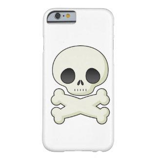 Cráneos lindos del gótico del kawaii del emo del funda para iPhone 6 barely there