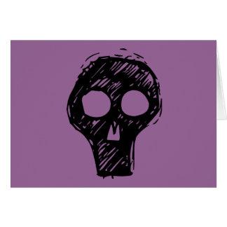 Cráneos Tarjeta De Felicitación